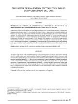 thumbnail of Evaluación de una enzima pectinolítica para el desmucilaginado del café