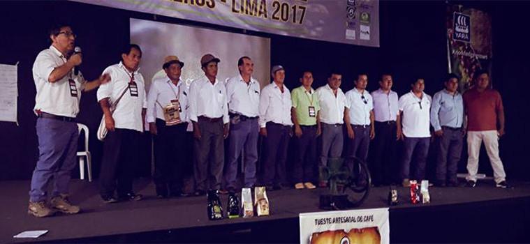 Destacan en I congreso nacional de cafetaleros del Perú