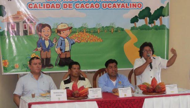 """Ucayali: Presentan campaña cacaotera """"Mayor productividad, mejores ingresos"""""""