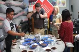 Cata de café peruano para exportación a Rusia