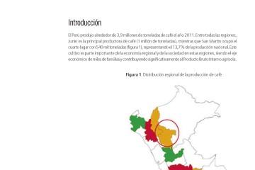 Escenarios de cambio climático en San Martín y su impacto en el cultivo del café