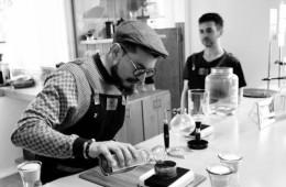 Steven Martínez - barista