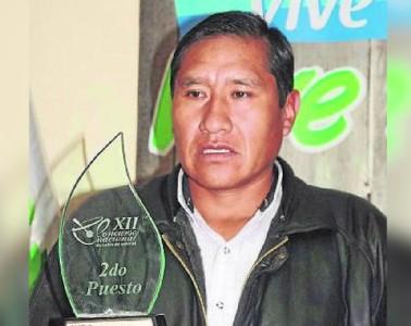 Agricultor cafetalero ganador al mejor café de calidad del mundo
