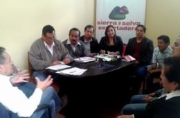 autoridades y representantes cafe amazonas