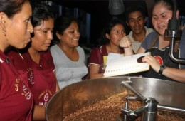 capacitación tostado de café