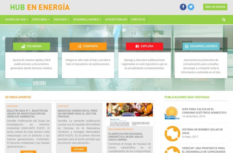 Portal sobre energía