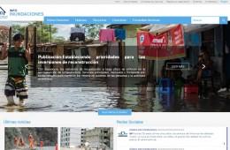 portal sobre inundaciones