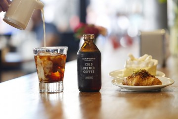 Import cold brewed coffee