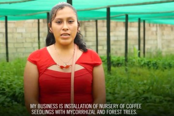 Emprendimientos de jóvenes en Cooperativa Santos Atahualpa
