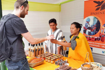 Realizan expo feria de café y chocolates especiales del Vraem